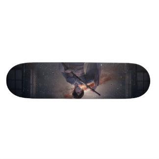 Samurai Girl 18.1 Cm Old School Skateboard Deck