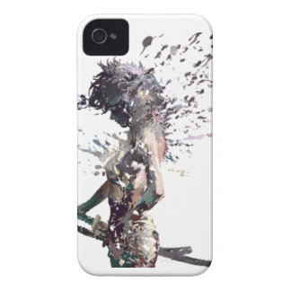 Samurai Girl iPhone 4 Case-Mate Case