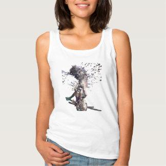 Samurai Girl Tank Top