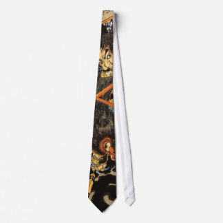 Samurai Grappling Monster Tie