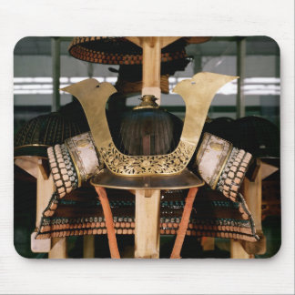 Samurai helmet, mid 14th century mouse mat