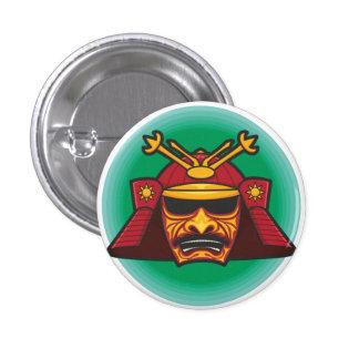 Samurai Helmet Pin
