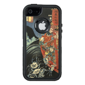 Samurai Hero Minamoto no Yoshitsune vs. Ghost Crab OtterBox iPhone 5/5s/SE Case