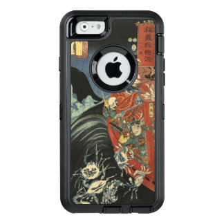 Samurai Hero Minamoto no Yoshitsune vs. Ghost Crab OtterBox iPhone 6/6s Case