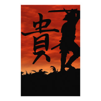 Samurai Honor Stationery