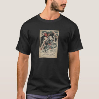 Samurai in the Snow circa 1825 T-Shirt