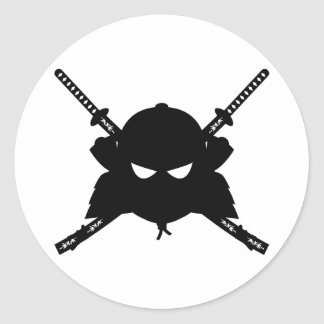 Samurai & Katana Swords Sticker