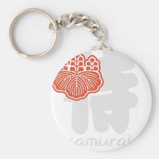 samurai key ring
