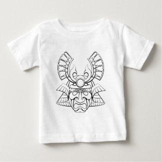 Samurai Mask Helmet Baby T-Shirt