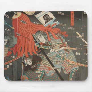 samurai mouse mat