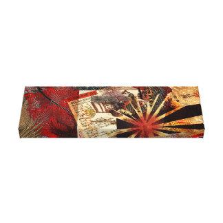 Samurai of the Rising Sun Canvas Print