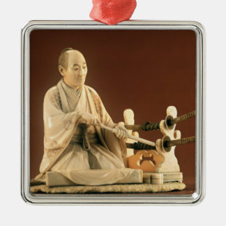 Samurai, Okinomo, Edo Period Christmas Ornament