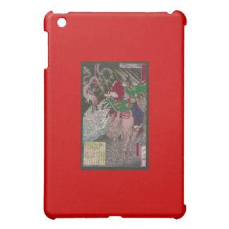 Samurai on Horseback Shooting a Dragon c. 1800s iPad Mini Case