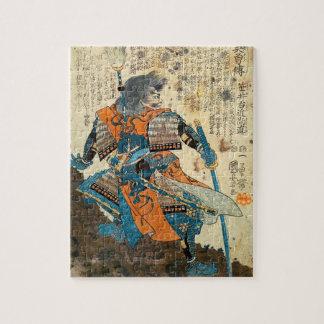 Samurai Orenji Puzzle
