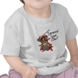 Samurai Sous Chef T-shirts