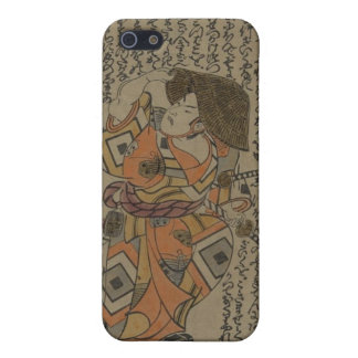 Samurai Surrounded by Puns circa 1722 Cover For iPhone 5