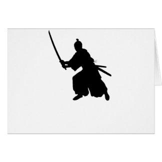 Samurai Sword Card