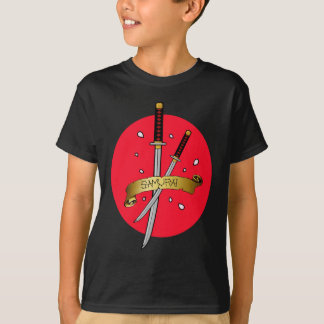 Samurai Sword Tattoo T-Shirt