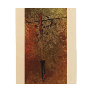 Samurai Sword Wall Art