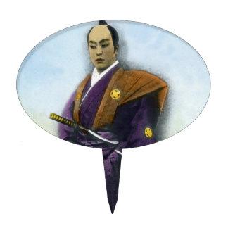 Samurai VIntage Japanese 侍 Cake Pick