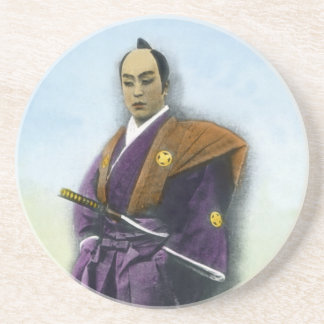 Samurai VIntage Japanese 侍 Coasters