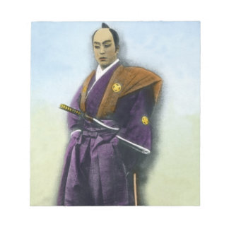 Samurai VIntage Japanese 侍 Memo Note Pads