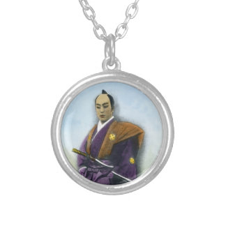 Samurai VIntage Japanese 侍 Silver Plated Necklace