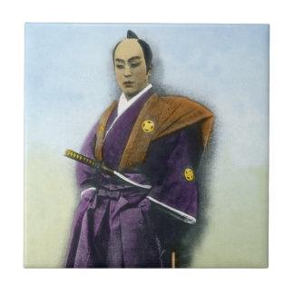 Samurai VIntage Japanese 侍 Ceramic Tiles