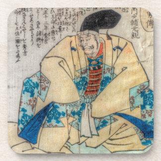 Samurai Warlord Beverage Coasters