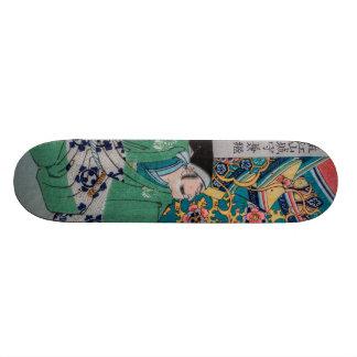 Samurai Warlord Custom Skate Board