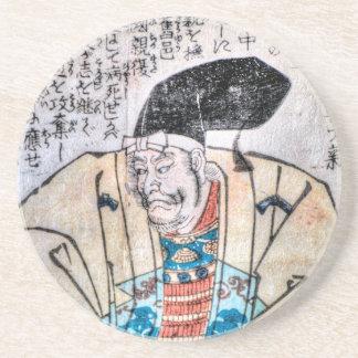 Samurai Warlord Sandstone Coaster