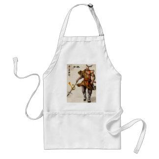 samurai warrior apron