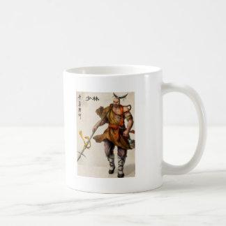 samurai warrior coffee mug