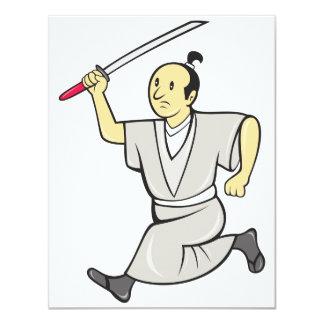 Samurai Warrior Invitations