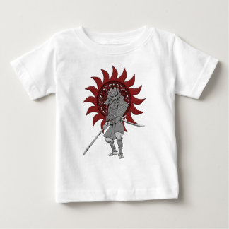 Samurai Warrior Japan Baby T-Shirt