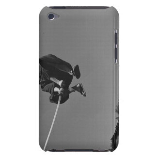 Samurai warrior jump ack with a sword 3 iPod Case-Mate cases