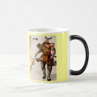 samurai warrior magic mug