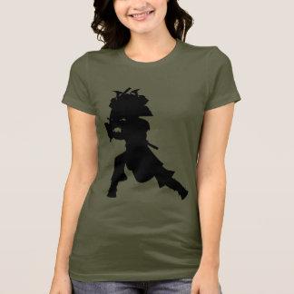 Samurai Warrior Silhouette T-Shirt
