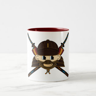 Samurai Warrior & Swords Mug