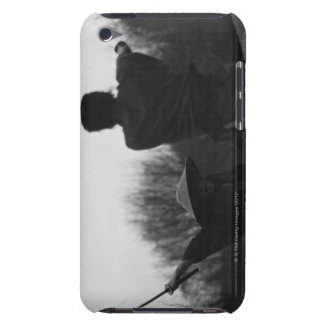 Samurai warriors acking each other 4 iPod touch case