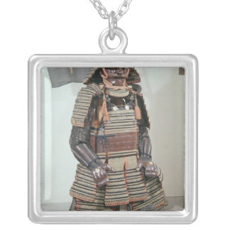 Samurai Warrior's Armour Silver Plated Necklace