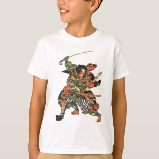 Samurai Warriors Fighting T-Shirt