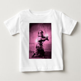 Samurai With Sword Baby T-Shirt