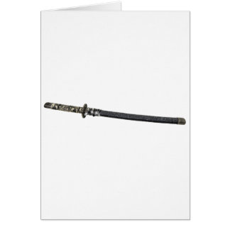 SamuraiSword061209 Greeting Card