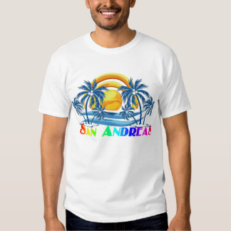 San Andreas Isla, Colombia T-shirts