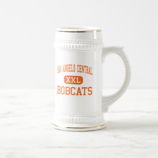 San Angelo Central - Bobcats - High - San Angelo Beer Steins