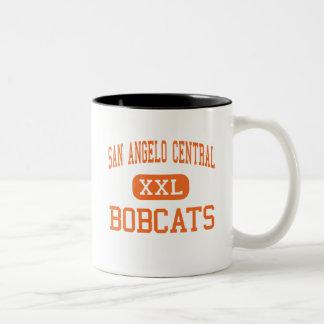 San Angelo Central - Bobcats - High - San Angelo Two-Tone Mug
