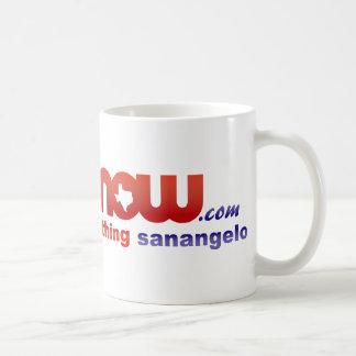 San Angelo NOW ~ everything sanangelo Basic White Mug