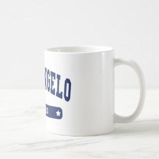 San Angelo Texas College Style tee shirts Basic White Mug