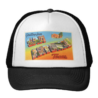 San Antonio #1 Texas TX Vintage Travel Souvenir Cap